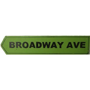 +NEW300B Broadway Avenue Sign