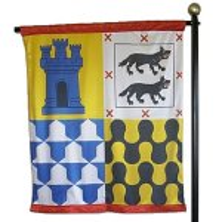 +MED301C Heraldic Banner No 4