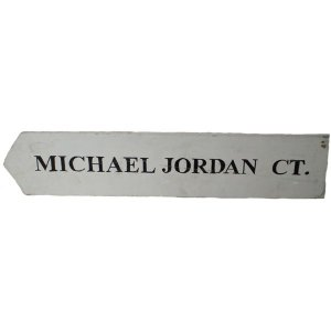+NEW300F Michael Jordan CT. Sign