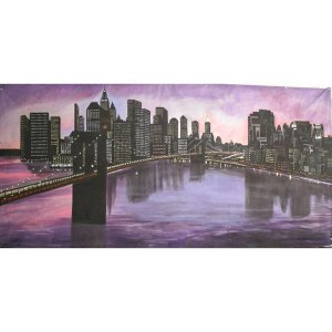 +NEW001 New York Skyline 6m x 3m