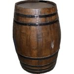 +MED306 Wooden barrel 38 gallon