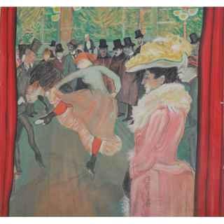 +PAR004 Toulouse Lautrec Backdrop 3mx3m