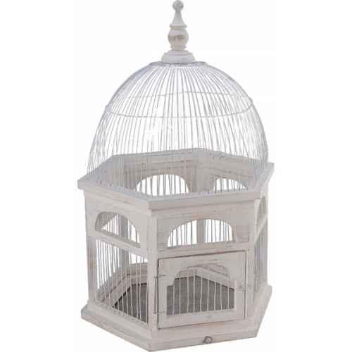 +BUR200 White Birdcage