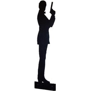 +BON103A James Bond Silhoutte