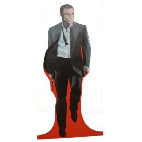 +BON100C Daniel Craig Bond Flat
