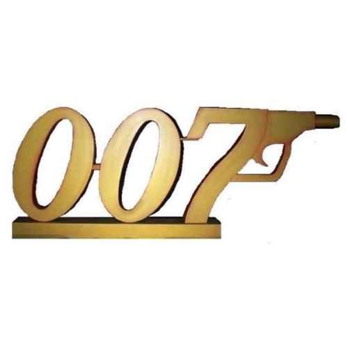 +BON200 Giant 007 Logo 3D