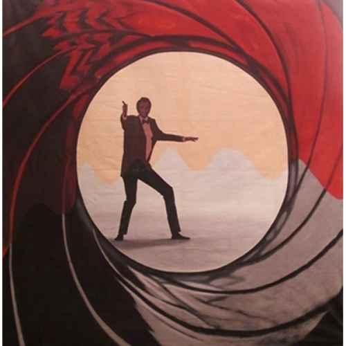 +BON003 Backdrop 3mx3m Bond Gun Sequence 1