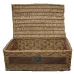 +BAS035 Crate Basket Weaved