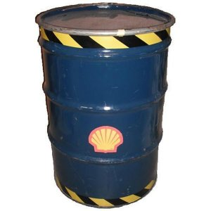 +BON206B Barrel 45 Gallon Blue