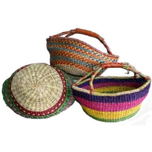 +BAS043 Zulu Shopper Basket