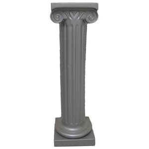 +PIL213B Silver 1m Pillar