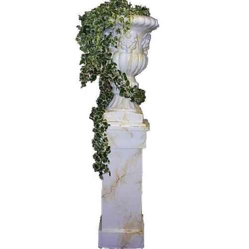 +PIL235 Ballustrade Pillar with Urn