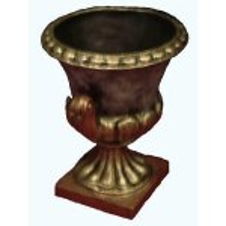 +PIL241 Bronze Urn 35cm