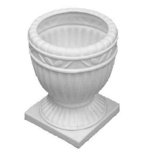 +PIL240 White Urn 33cm