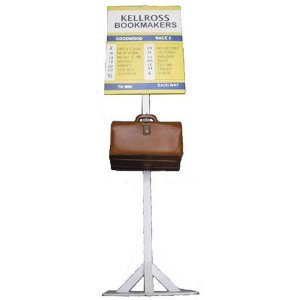 +RAC205 Bookmaker Stand with briefcase
