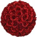 PLA091-Red Ball of Roses