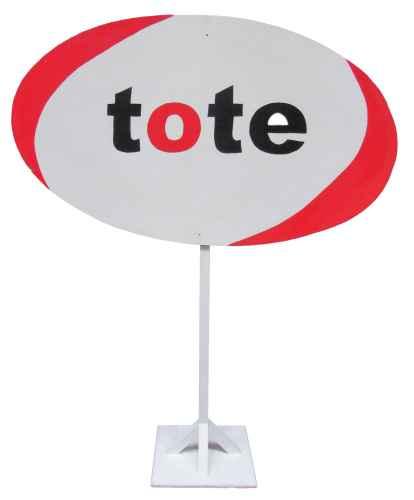 +RAC302 Tote Sign cw Post