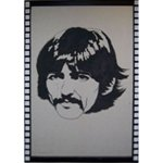 +SIX105D George Harrison Beatles Flat web