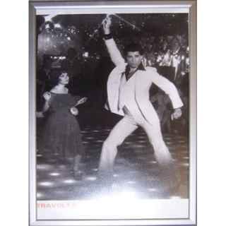 +SEV330 John Travolta B&W Print