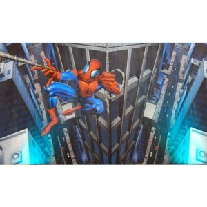 +SUP111 Mural of Spiderman
