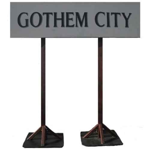 +SUP119 Gothem City Sign
