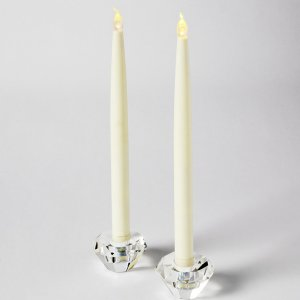 +CAN310 Battery Tapered Dinner Candle