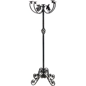 +CAN018 candelabra Iron Floor Standing