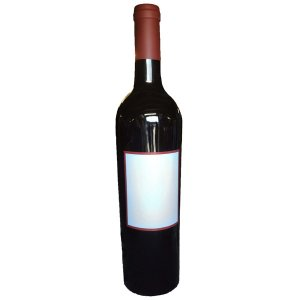 CAT208 Giant Wine Bottle model