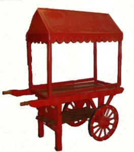 +CAT011 Hand Cart with Canopy
