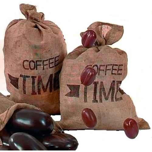 CAT215 Jute Coffee Bag with Logo