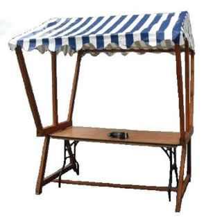 +CAT015 - B Market Stall Blue Canopy 1
