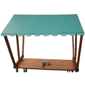 +CAT016GT Green Tile Roof for Market Stall