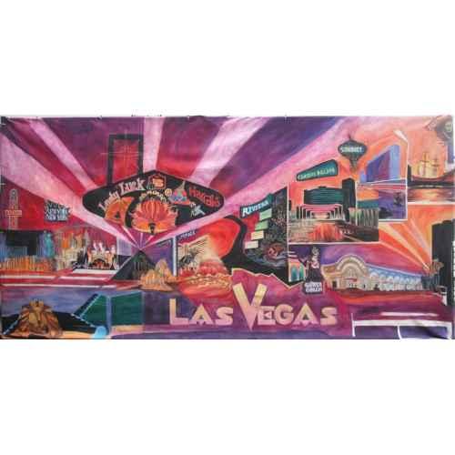 +VEG001 Backdrop 6mx3m Vegas Montage