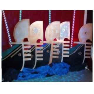 +VEN101 Set of 3 Gondola Flats