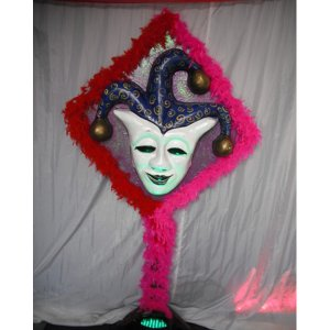 +VEN203AB Jester Mask 2 with Boa