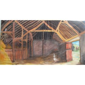 +WWE002 Backdrop 6mx3m Inside Barn 1