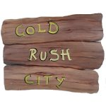 +WWE106G Gold Rush City Sign
