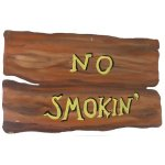 +WWE106H No Smokin Sign