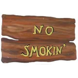 +WWE106H No Smokin Sign