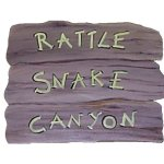 +WWE106 Rustic Sign (Rattle Snake Canyon)