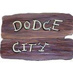 +WWE106C Rustic Sign (Dodge City)
