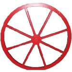 +WWE206 Wagon Wheel (Wood)