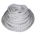 +YAC326 White Rope coiled