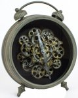 +VIN202 Double Bell Vintage Clock