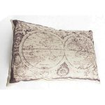 FUR669 Fabric Map Cushion