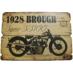 +VIN304 1928 Brough Motorcyle Sign 72dpi