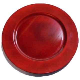 +CAT203 Plate Dark Red