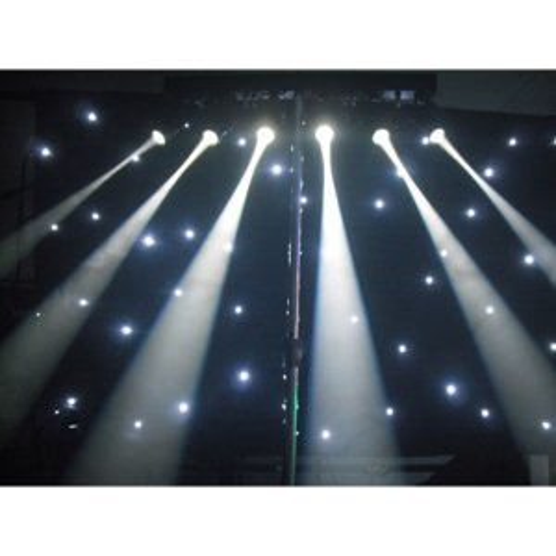 +40004.6 LED 6 way Pinspot Bar White