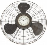 +VIN203 Propeller Wall Clock