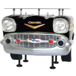 +BAR069 Chevrolet Bar in Black cw Glass